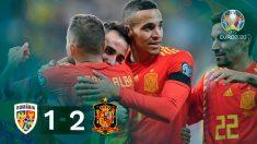 España venció a Rumanía y encarrilla su pase a la Eurocopa.