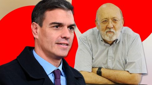 Pedro Sánchez y José Félix Tezanos, presidente del CIS