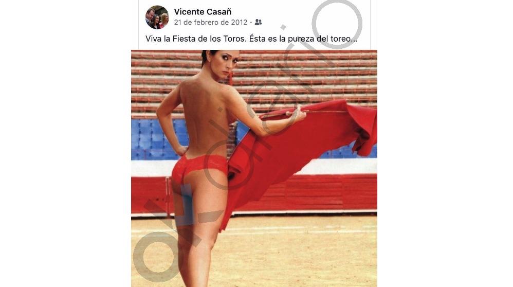 Mensaje en Facebook del actual alcalde de Albacete.