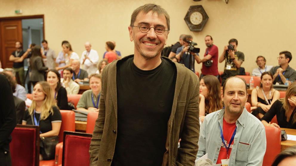 Juan Carlos Monedero (Foto: Francisco Toledo)