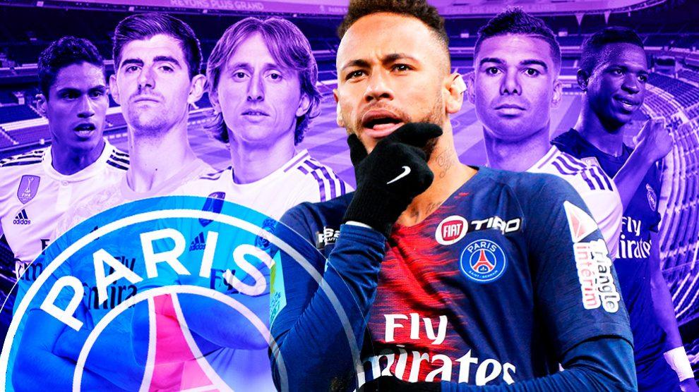 Al PSG le interesaban cinco jugadores del Madrid para incluir en la Operación Neymar.