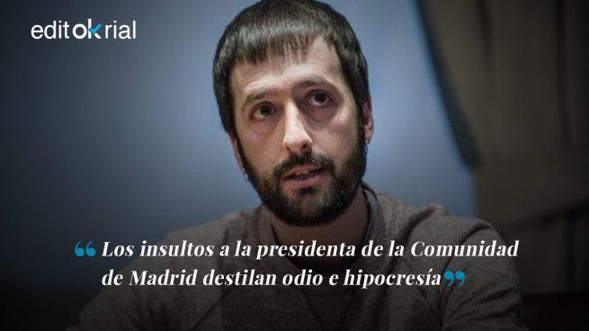 Podemos vomita odio machista contra Díaz Ayuso