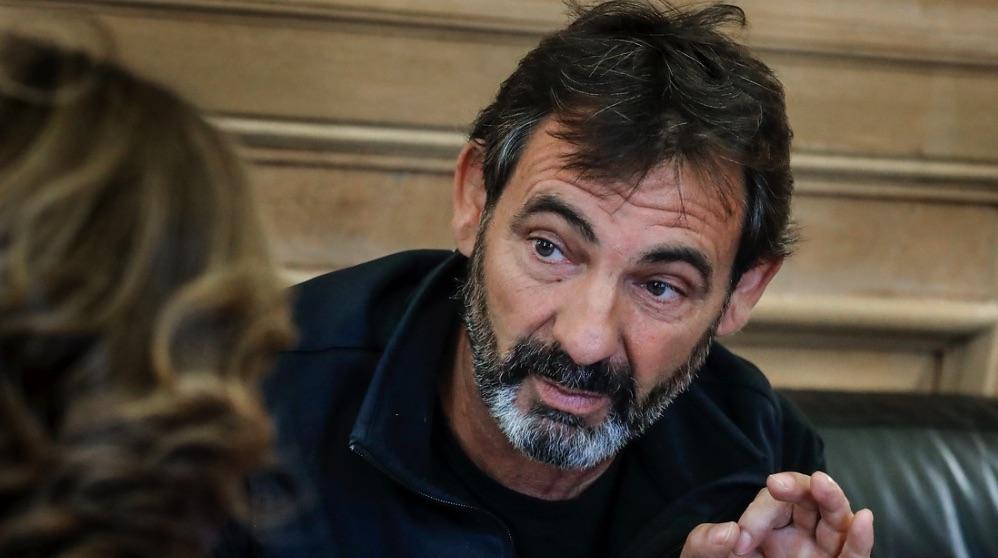 Óscar Camps, líder de Proactiva Open Arms. (Foto. Barcelona)
