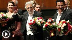 Plácido Domingo en Salzburgo (Foto: AFP)