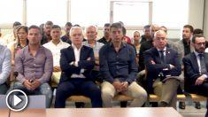 Imagen del juicio del presunto amaño del Levante – Zaragoza. (Europa Press)