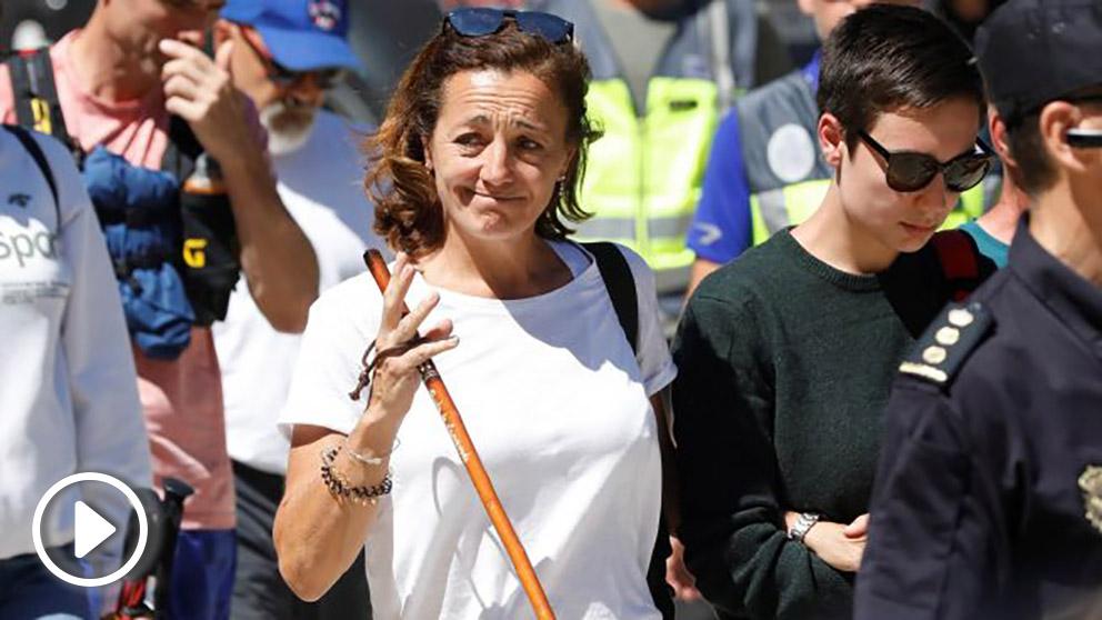 Lola Fernández Ochoa, hermana de la ex medallista @EFE