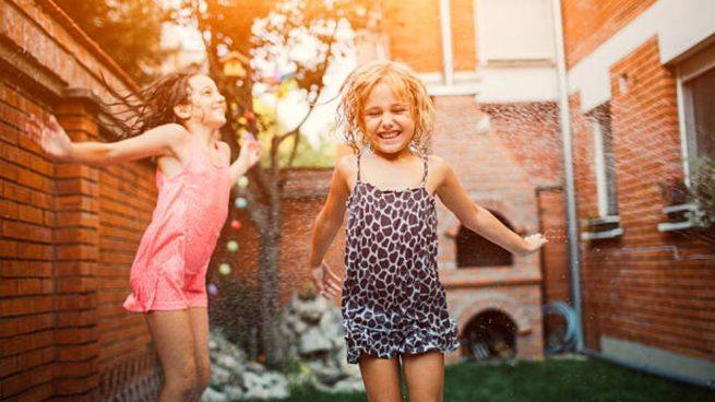 amueblar y decorar una terraza para niños
