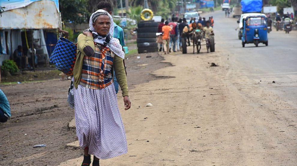 Calles de Etiopía @Getty