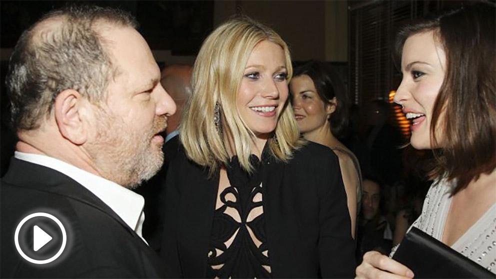 Harvey Weinstein con Gwynet Paltrow