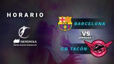 FC Barcelona – Real Madrid Tacón: jornada 1 de la Primera División de la Liga Iberdrola.