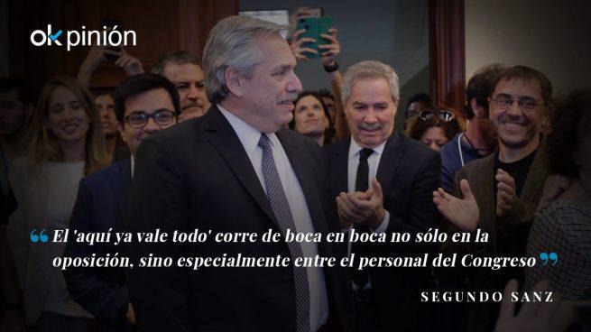 Las Cortes bolivarianas de Podemos