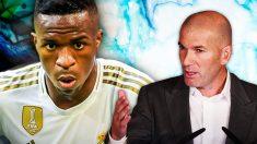 Zidane quiere paciencia con Vinicius.