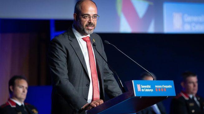 Buch, consejero de Interior de la Generalitat @EP