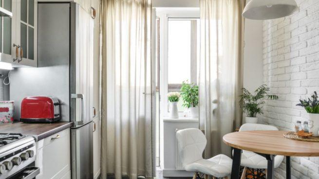 El espacio de una cocina