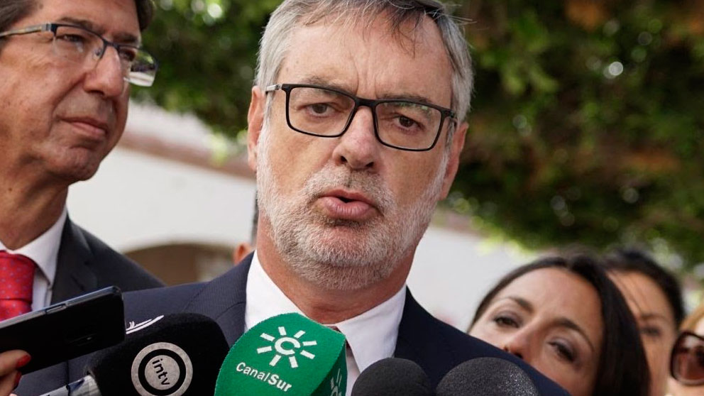 El secretario general de Cs, José Manuel Villegas. Foto: EP