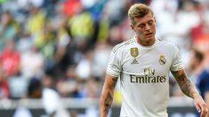 Toni Kroos, en un partido con el Real Madrid. (AFP)