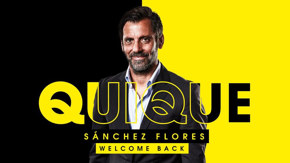 Quique Sánchez Flores, nuevo entrenador del Watford (@WatfordFC)