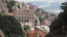 La abadía de Montserrat en Cataluña.