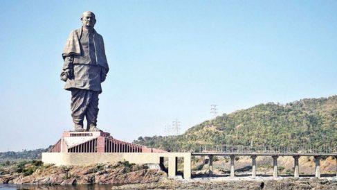 En la India está el monumento con mayor altura del planeta