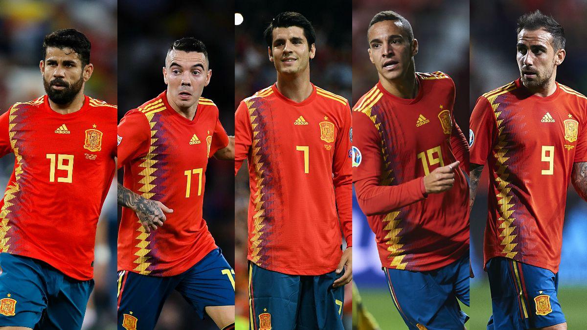 A Robert Moreno le sobran delanteros para la Euro 2020.