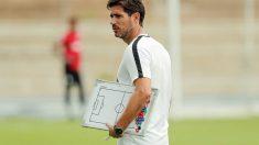 Víctor Sánchez del Amo, entrenador del Málaga (Málaga Club de Fútbol)