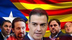 La Diada reúne a todos los socios potenciales de Pedro Sánchez