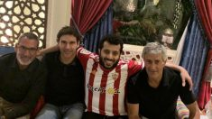 Aitor Karanka, Turki Al-Sheikh y Quique Setién (@Turki_alalshikh)