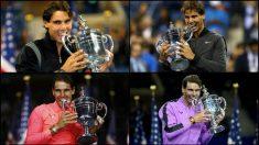Rafa Nadal ya tiene cuatro US Open.