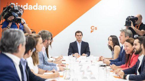 Reunión del Comité Permanente de la Ejecutiva de Ciudadanos (Foto: Ciudadanos)
