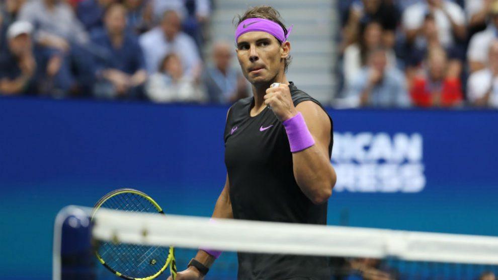 Rafa Nadal, durante el US Open. (Getty)