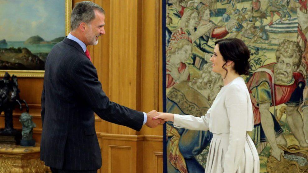 Isabel Díaz Ayuso, presidenta de la Comunidad de Madrid @EFE