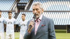 Carlos Mouriño durante la presentación del Celta (Celta de Vigo)