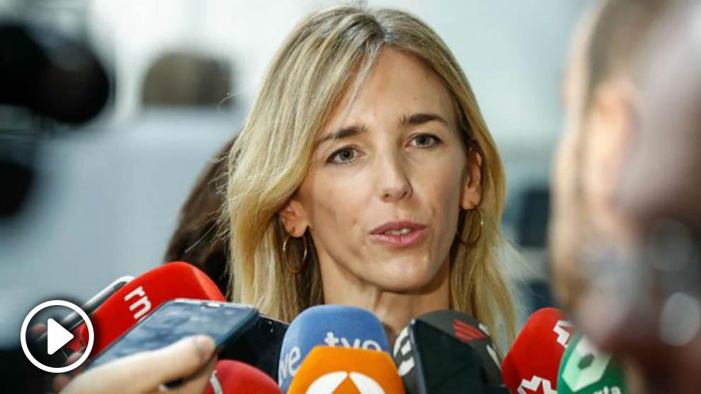 Cayetana Álvarez de Toledo, este jueves en Navarra. (Ep)