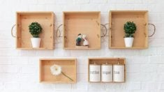Guía para hacer estanterías con cajas de vino