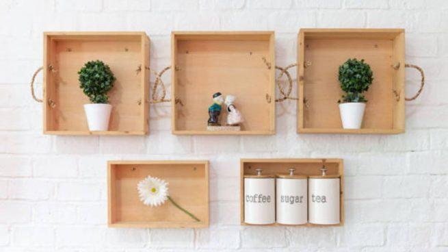hacer estanterias con cajas de vino