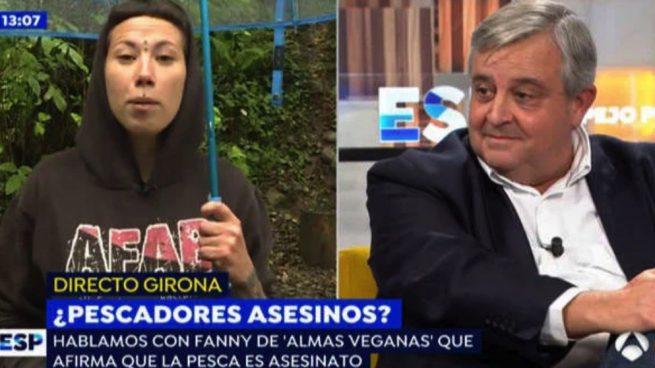 Fanny de Almas Veganas y Martín Beaumont.