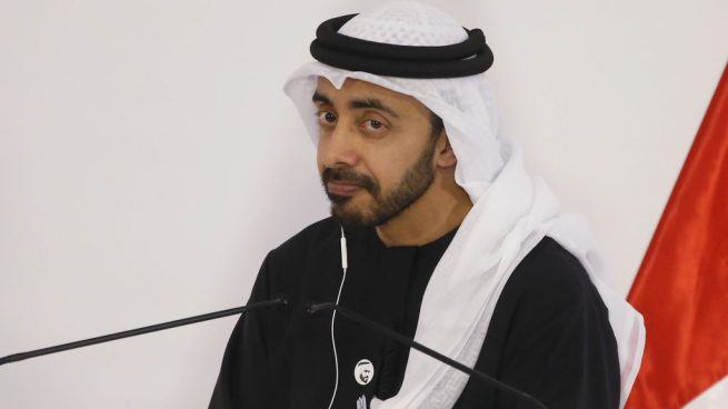 Abdullah bin Zayed Al Nahyan @Getty