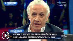 Eduardo Inda, en 'El Chiringuito' del 10 de octubre de 2017.
