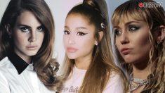 Lana del Rey, Ariana Grande y Miley Cyrus, la gran colaboración