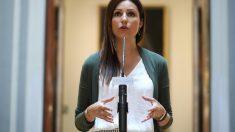 Lorena Roldán, portavoz de la Ejecutiva de C's y líder en Cataluña @EP