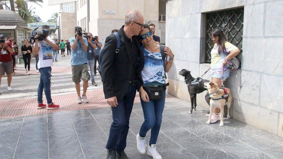 Patricia Ramírez, madre de Gabriel al llegar a los juzgados de Almería @EP