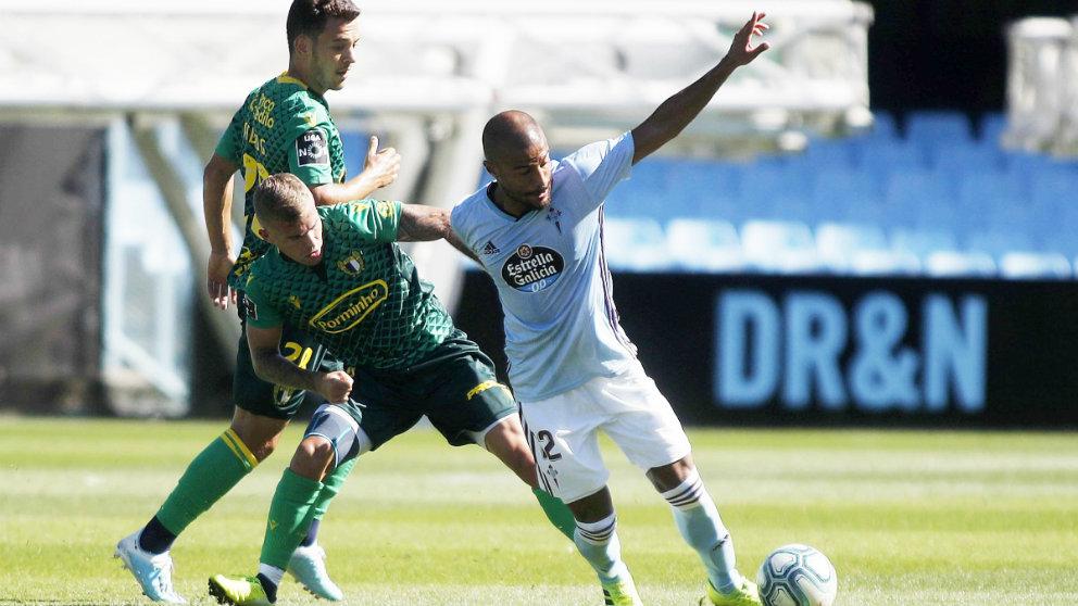 Rafinha Alcántara durante un amistoso contra el Famalicao (Celta de Vigo)