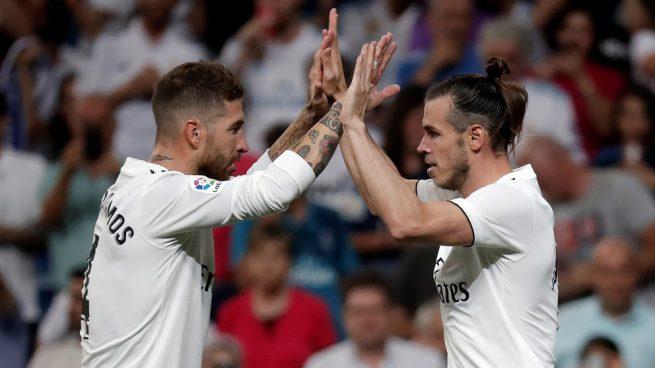 Ramos da la cara por Bale