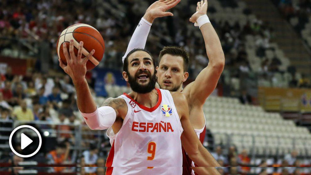 España – Polonia: resumen y highlights del partido de la Copa Mundial de Baloncesto.