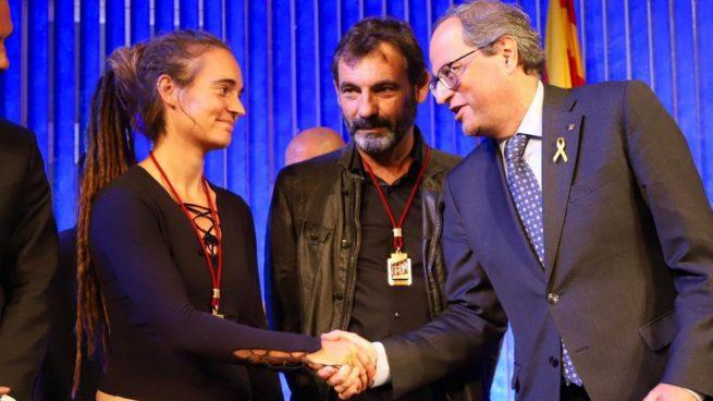 Carola Rackete, Oscar Camps y Quim Torra @OKDIARIO.