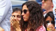 Xisca Perelló estrenó anillo en la final del US Open. (AFP)