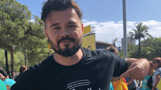 Gabriel Rufián, diputado de ERC @Twitter