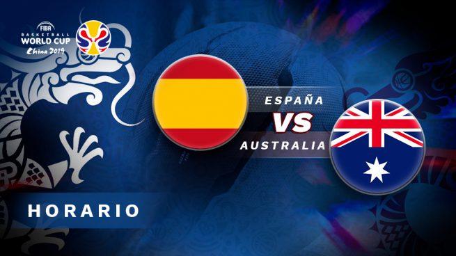 horario España Australia