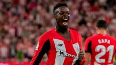 Iñaki Williams con el Athletic (@Williaaams45)
