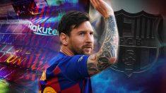 Messi manda un mensaje al Barcelona.